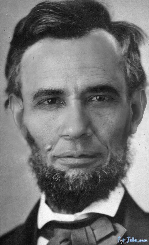 ФотоЖаба на официальный Портрет Барака Обамы - фото 15