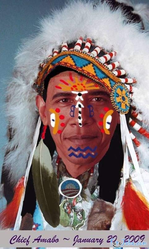 ФотоЖаба на официальный Портрет Барака Обамы - фото 16