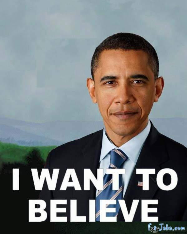 ФотоЖаба на официальный Портрет Барака Обамы - фото 27