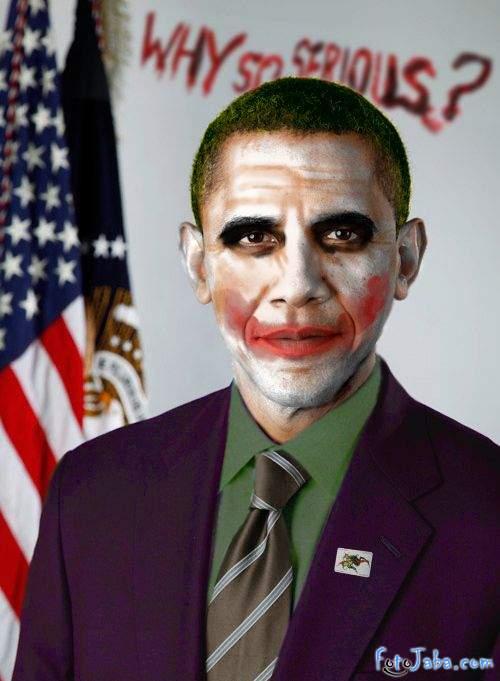 ФотоЖаба на официальный Портрет Барака Обамы - фото 37