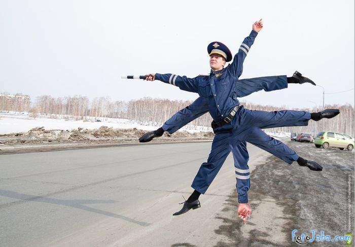 ФотоЖаба на инспектора ДПС - фото 12