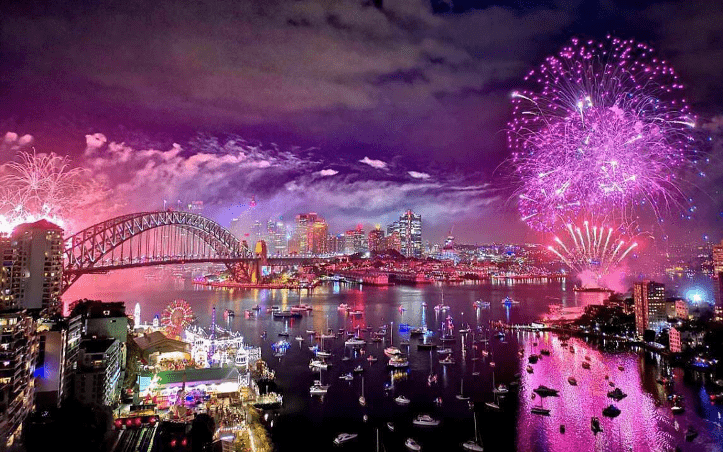 Как встречают Новый год в Австралии, 30 фото
