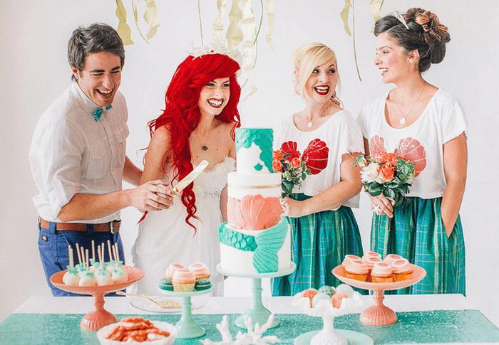 Самые яркие и забавные свадьбы-косплеи