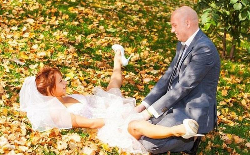провальные свадебные фото